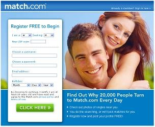 Match.com online dating advice