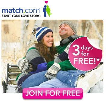 3 days free trial on match